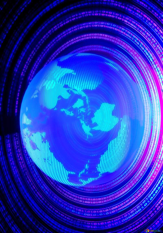 Digital global world №49672