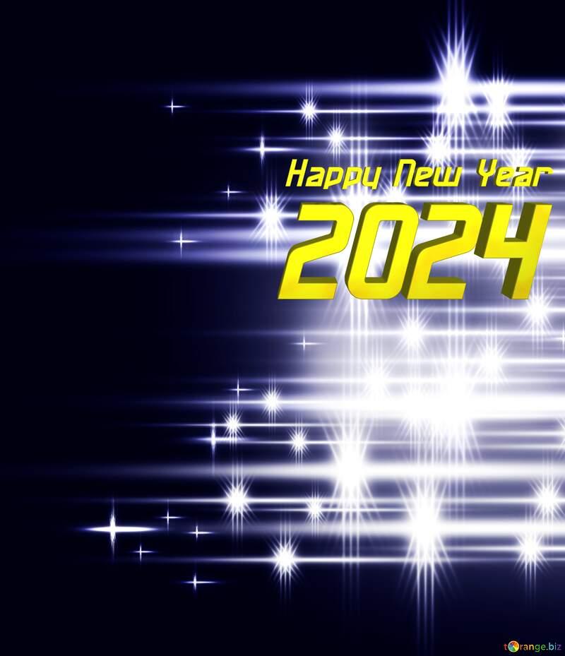 Elegant shiny white bright background fog blue Happy New Year 2022 №54753