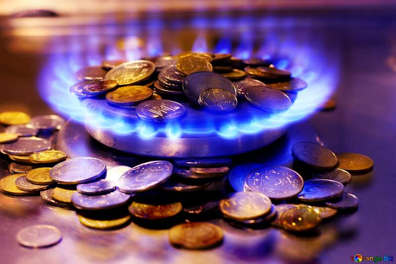Gas Fire and Money №38437