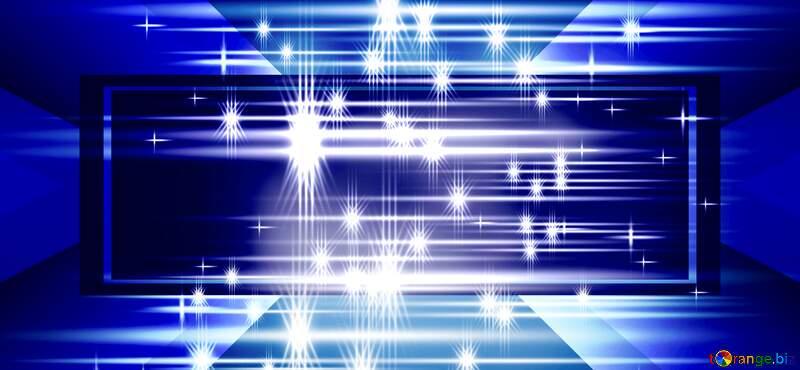 glitter stars blue background №54753