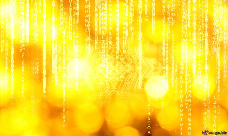 Gold matrix  background №37815