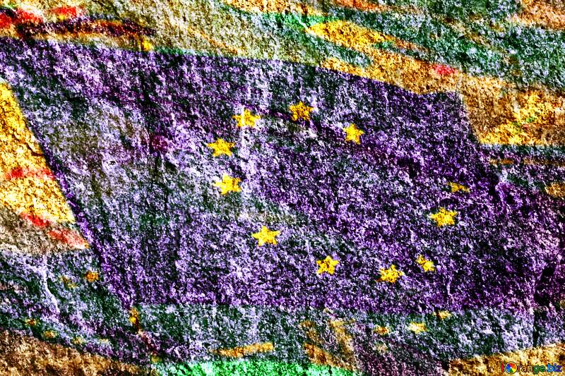 Granite. Euro Flag №1301