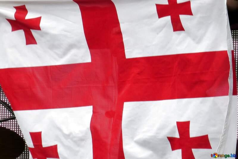 Granite. Georgian flag №1301