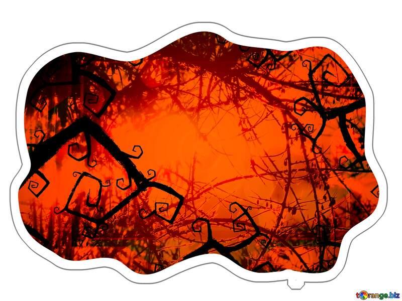 Halloween Sticker №40591