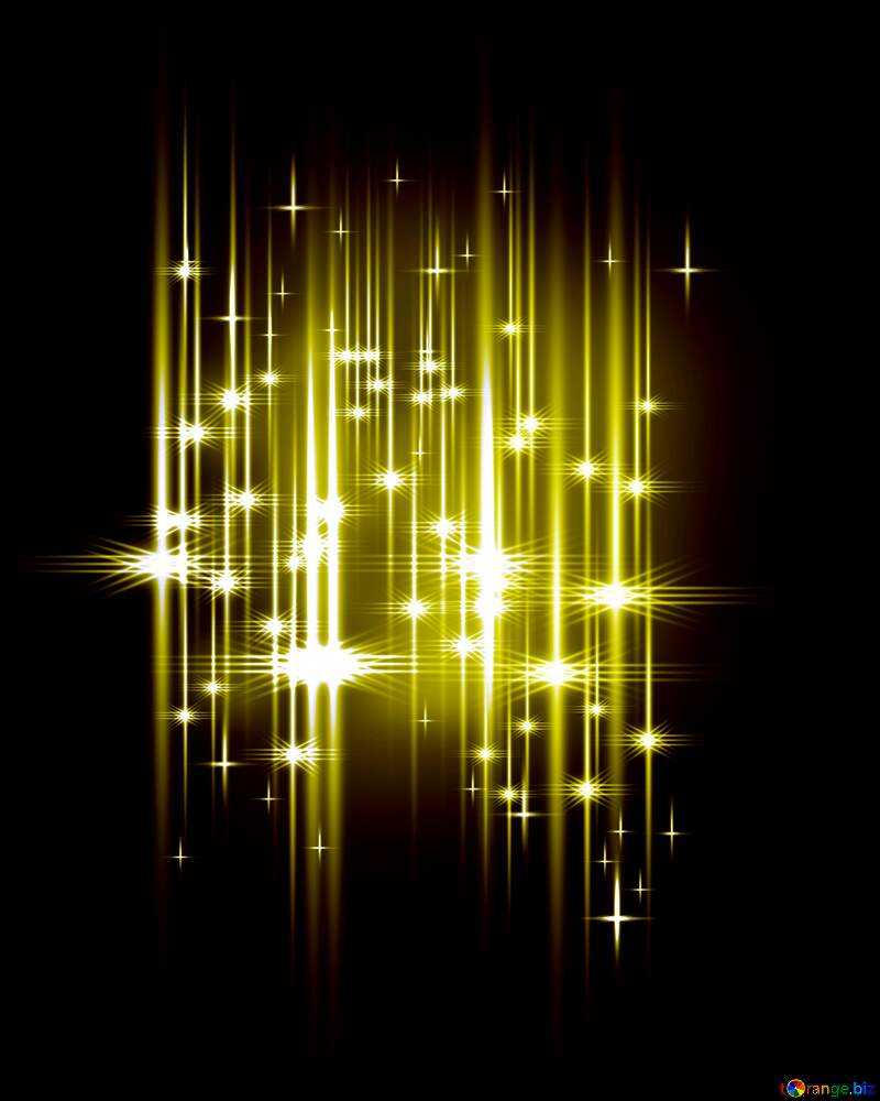 lights Elegant shiny lights stars rain background №54753