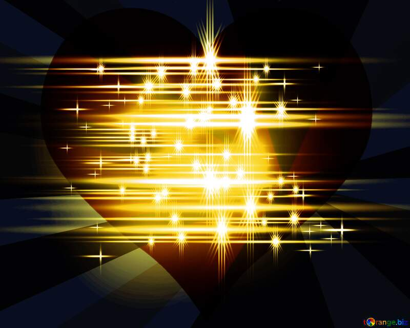 shiny Heart love dark  background №54753
