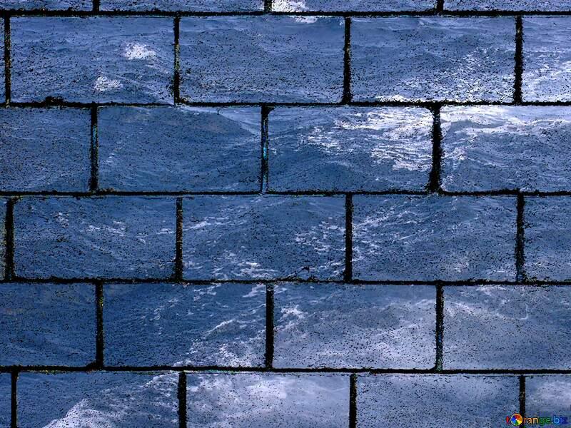 Water boils at the stern wall blocks №21921