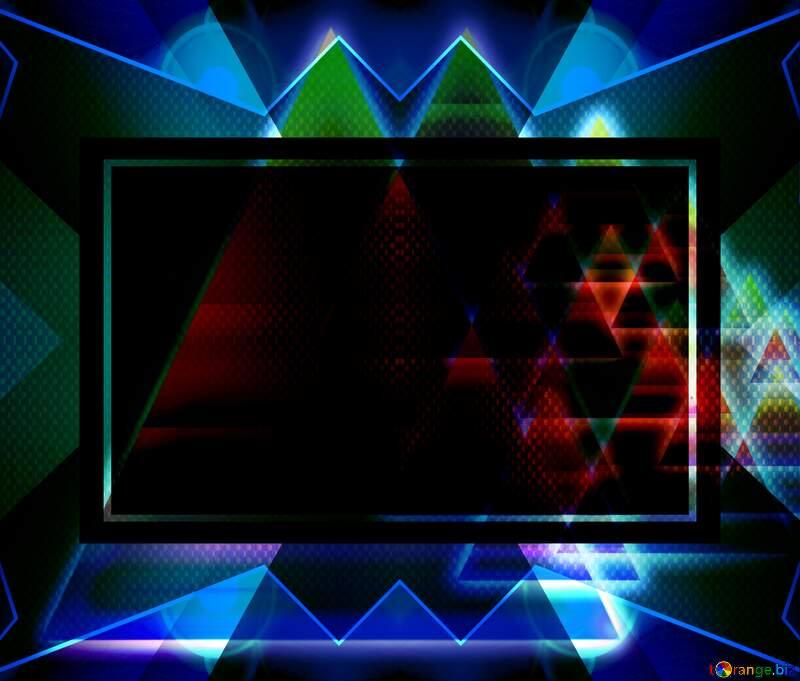 fractacal pattern, backrounds dark design background hi-tech №54760