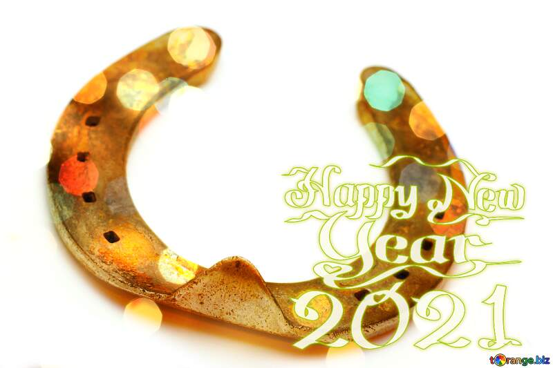Good luck  horseshoes happy new year 2021 №16781