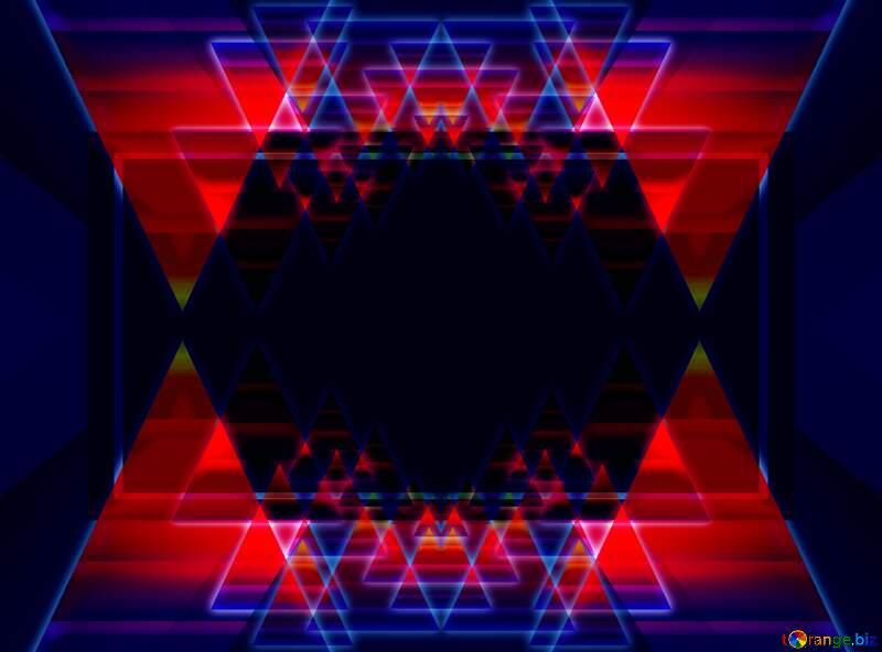 hexagon dark background №54760