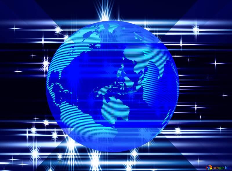 shiny global world earth background №54752