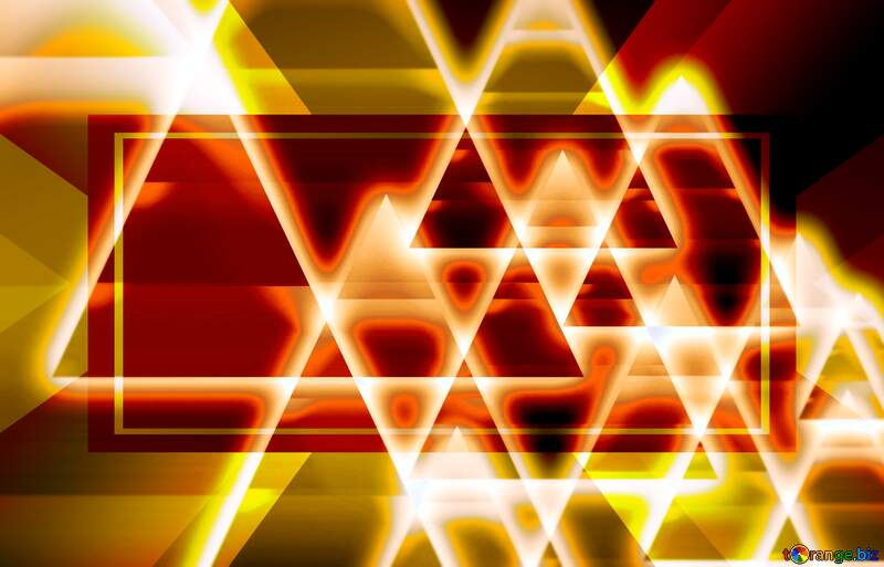 Triangle overlapping lights background №54760