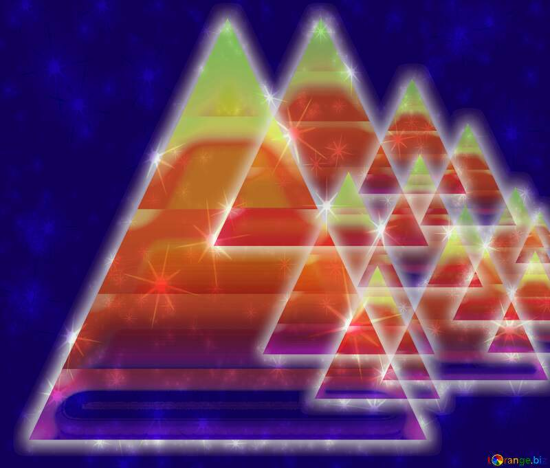 triangles Colors design background glow neon №54760