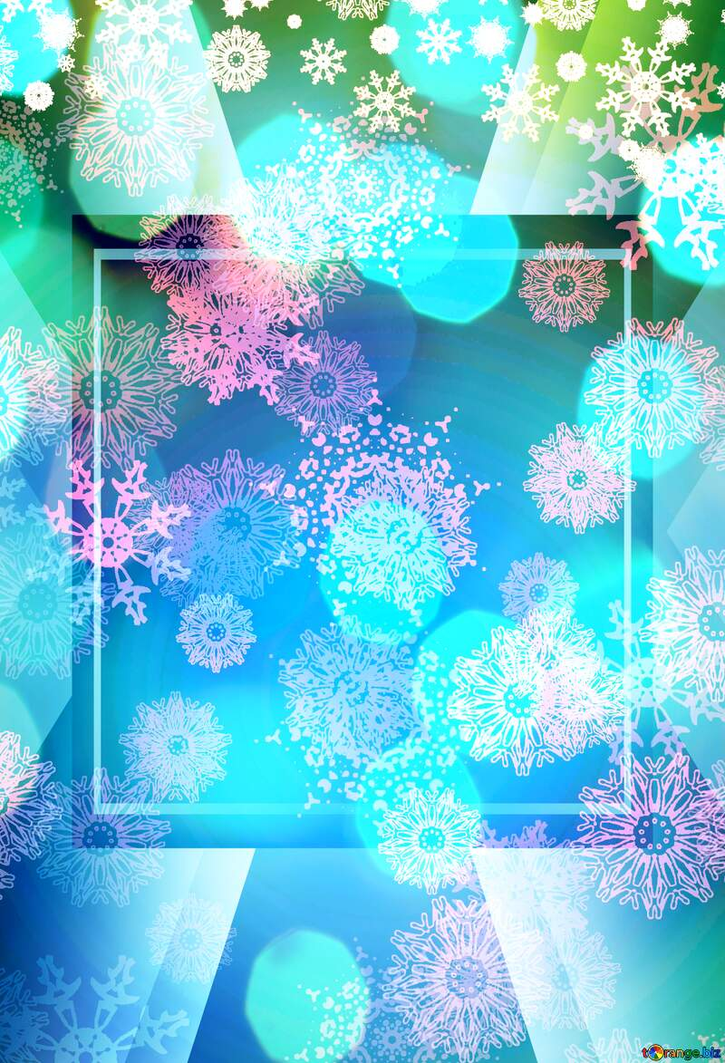 Winter  Christmas background №40658