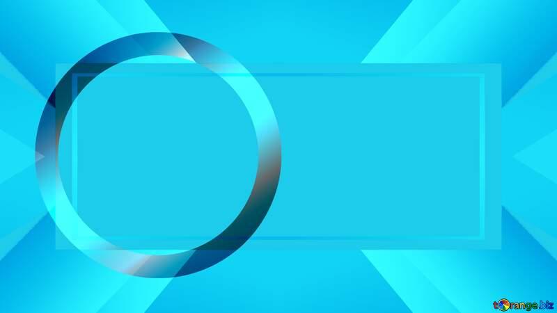 Blue  circle thumbnail responsive design background infographic №54776
