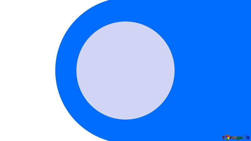 Blue circle Youtube Thumbnail template opacity background №54770