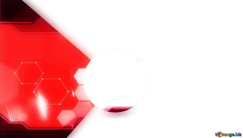 Left center  Youtube thumbnail transparent background red techno №54851