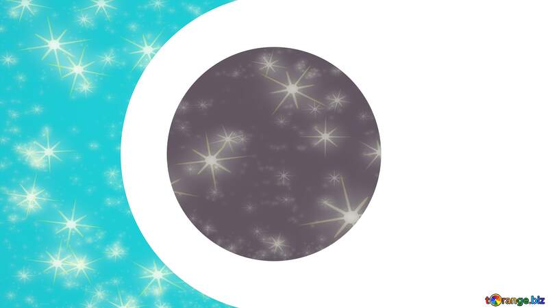 twinkling stars Youtube Thumbnail template opacity background №54770