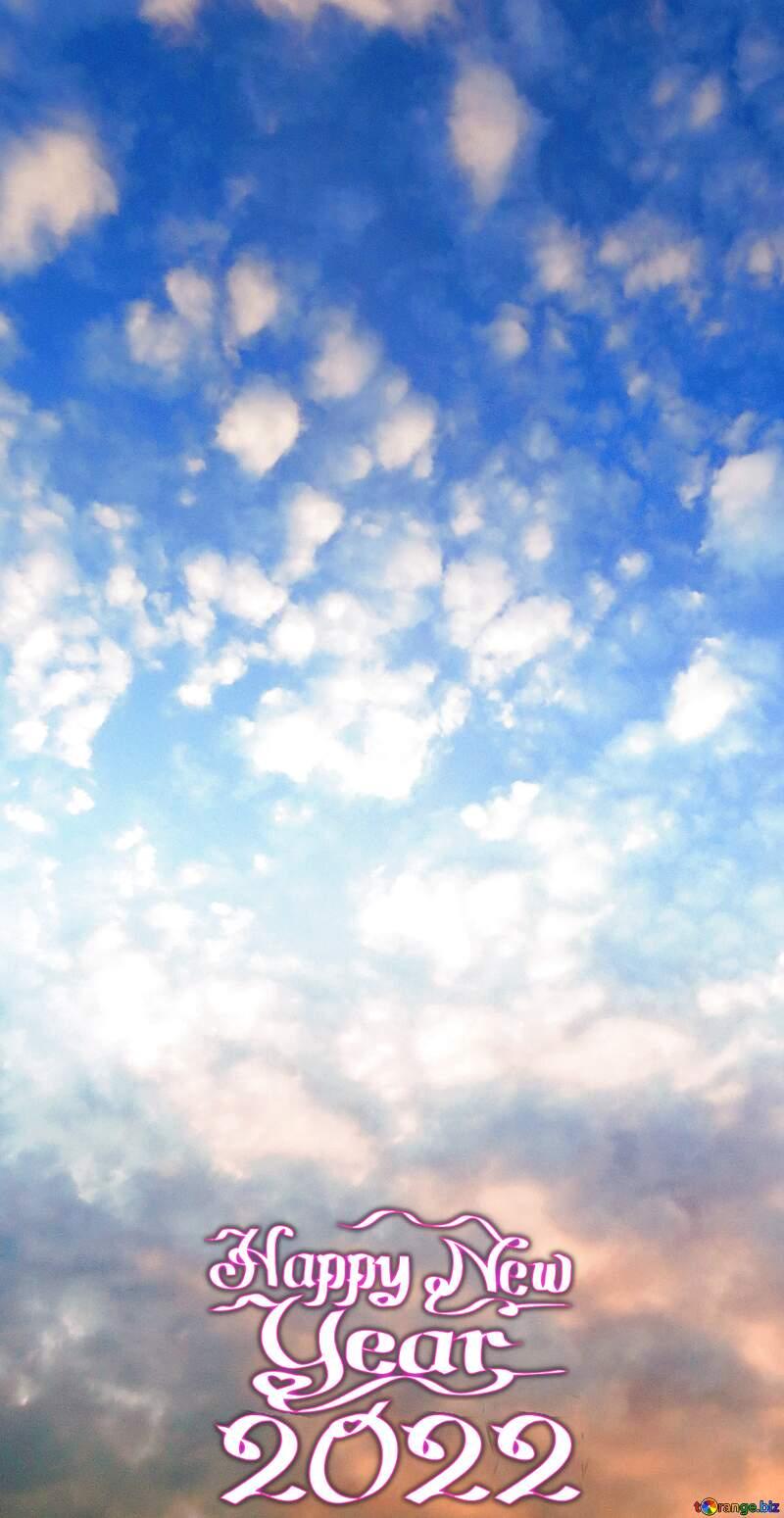 Beautiful sky Happy New Year 2021 №22651