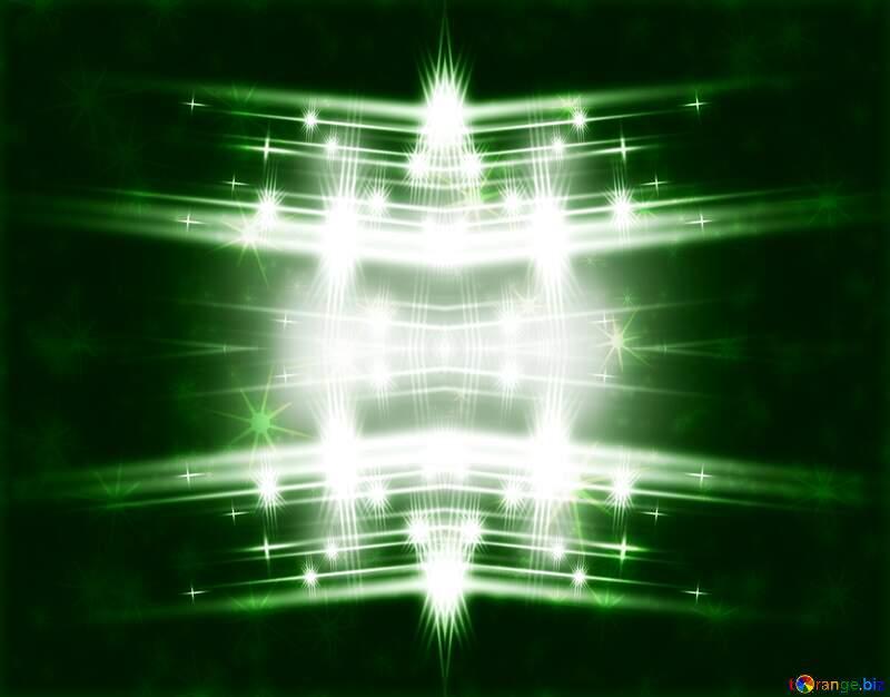 Elegant green  shiny bright background №54753