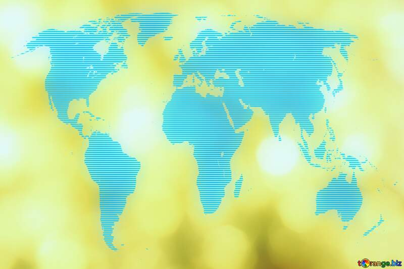 Gold world  background №37815