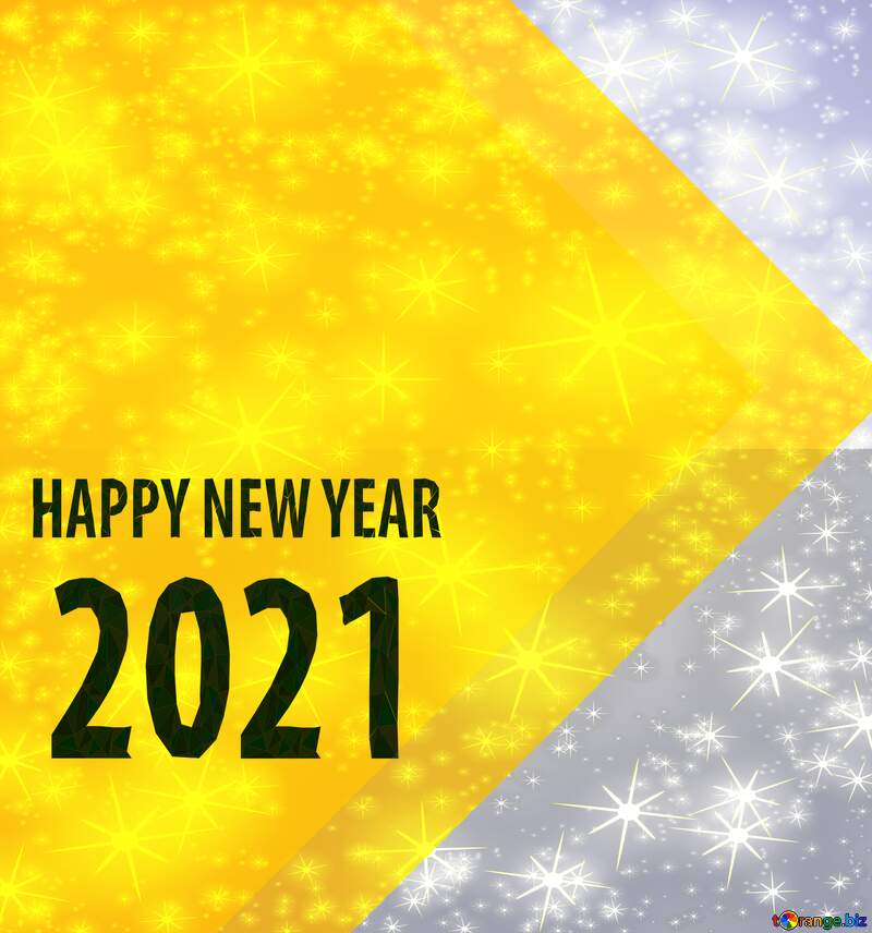 Happy New Year 2021 thumbnail transparent background №54832