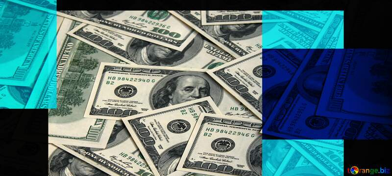 Money  blue background №54848