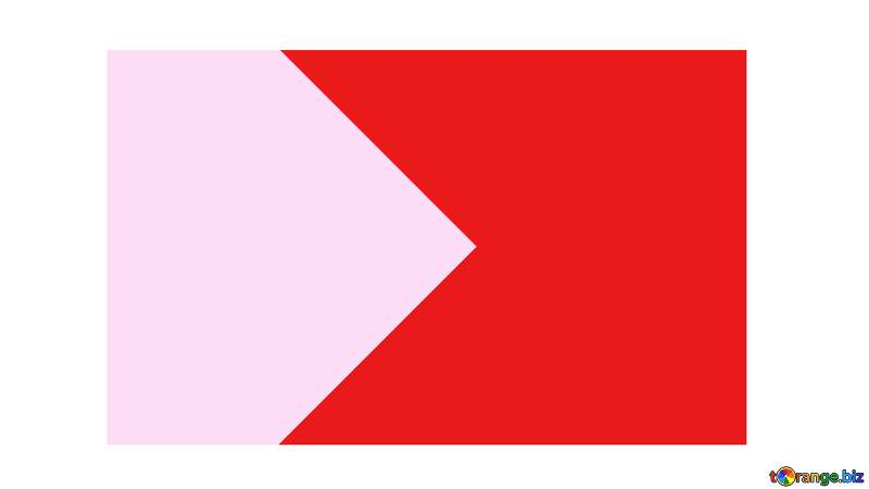 pink and red flag Copyspace Youtube thumbnail transparent background №54833