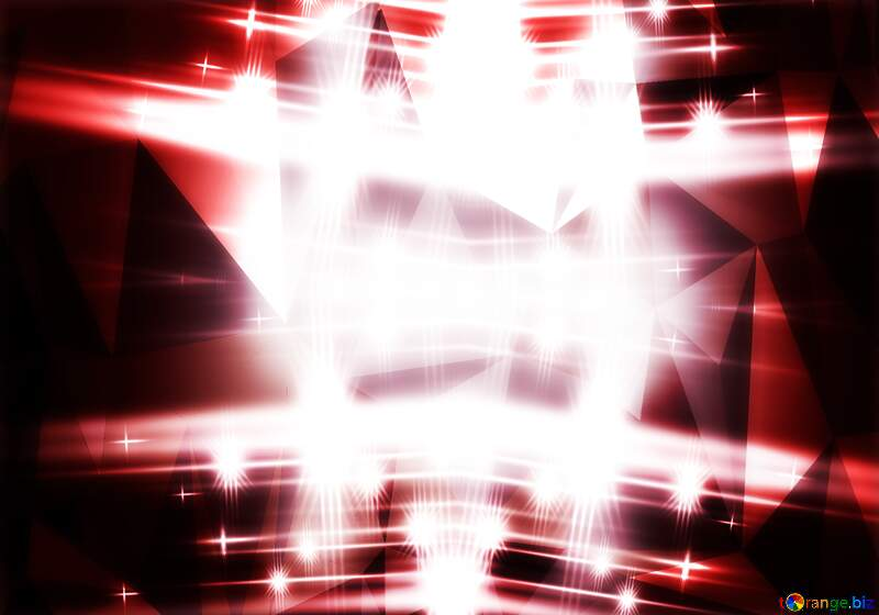 Red lights and crystals background №54753
