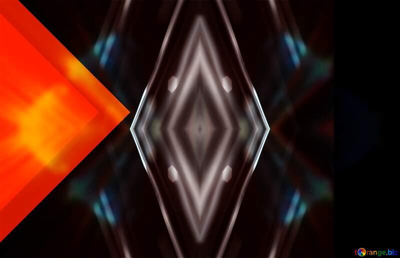 symmetrical geometric figure pattern №54832