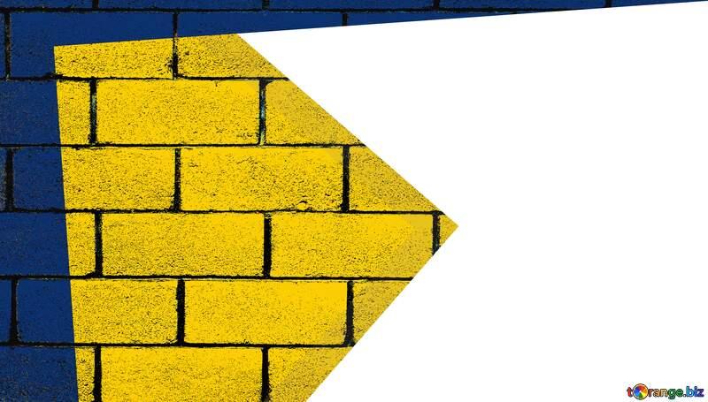 yellow blocks wall brick  opacity Frame transparent Youtube thumbnail background №54832
