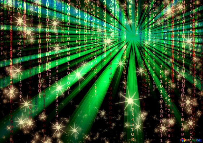 Digital laser background №54495