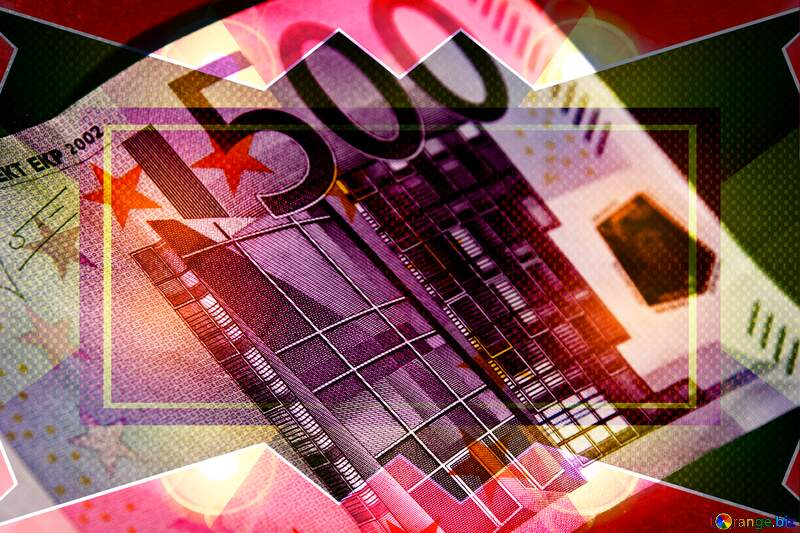 Euro currency 500 infographic template №5906
