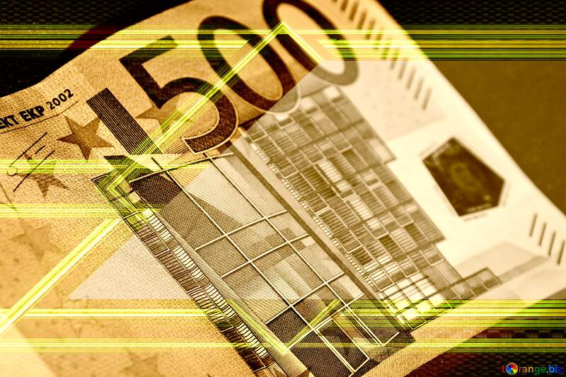 Euro currency lines frame №5906