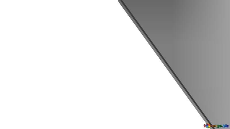 Gray Corner frame Youtube thumbnail transparent background №54795