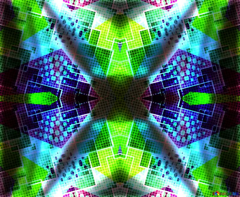 Technology colorful  background №49678