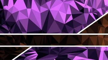 Purple polygon triangle graphic design symmetry illustration thumbnail  background pattern