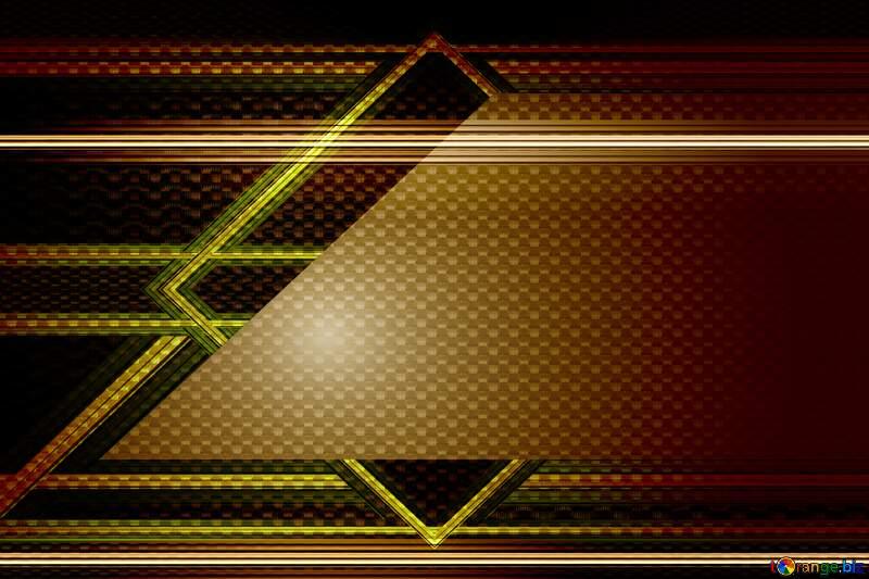 carbon gold frame lines top left bottom background №54465