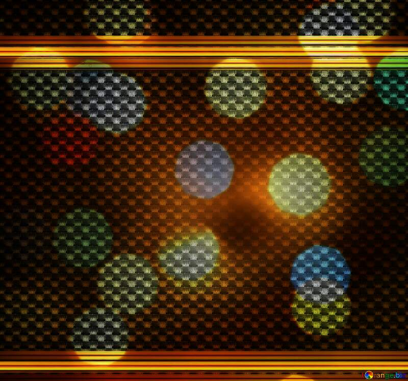 carbon gold lines bokeh background №54465