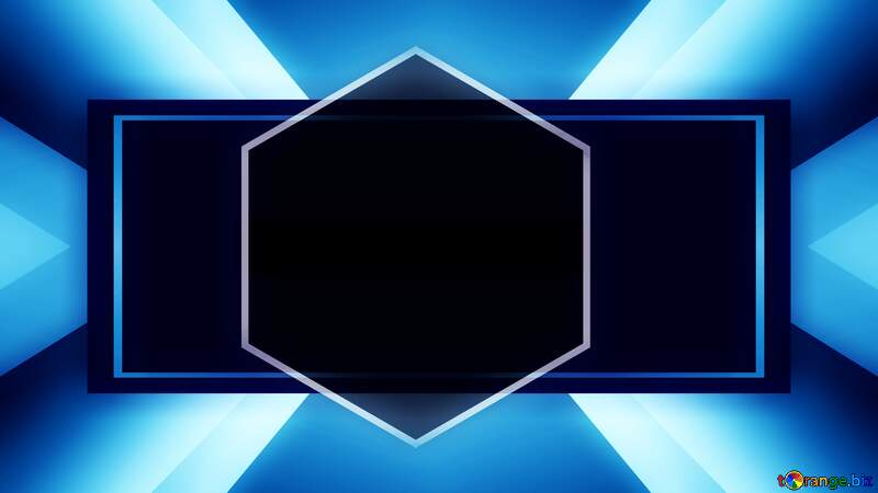 Electric blue symmetry sign bright desk computer screen background №54841