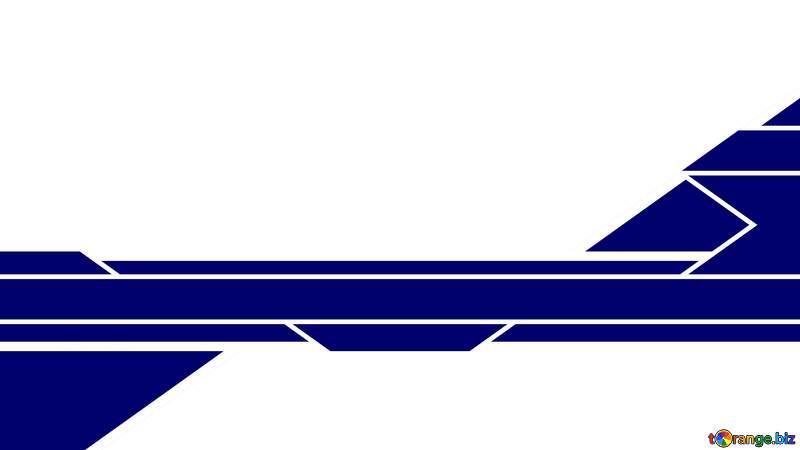 Geometrical blue lines Youtube thumbnail transparent background №54809