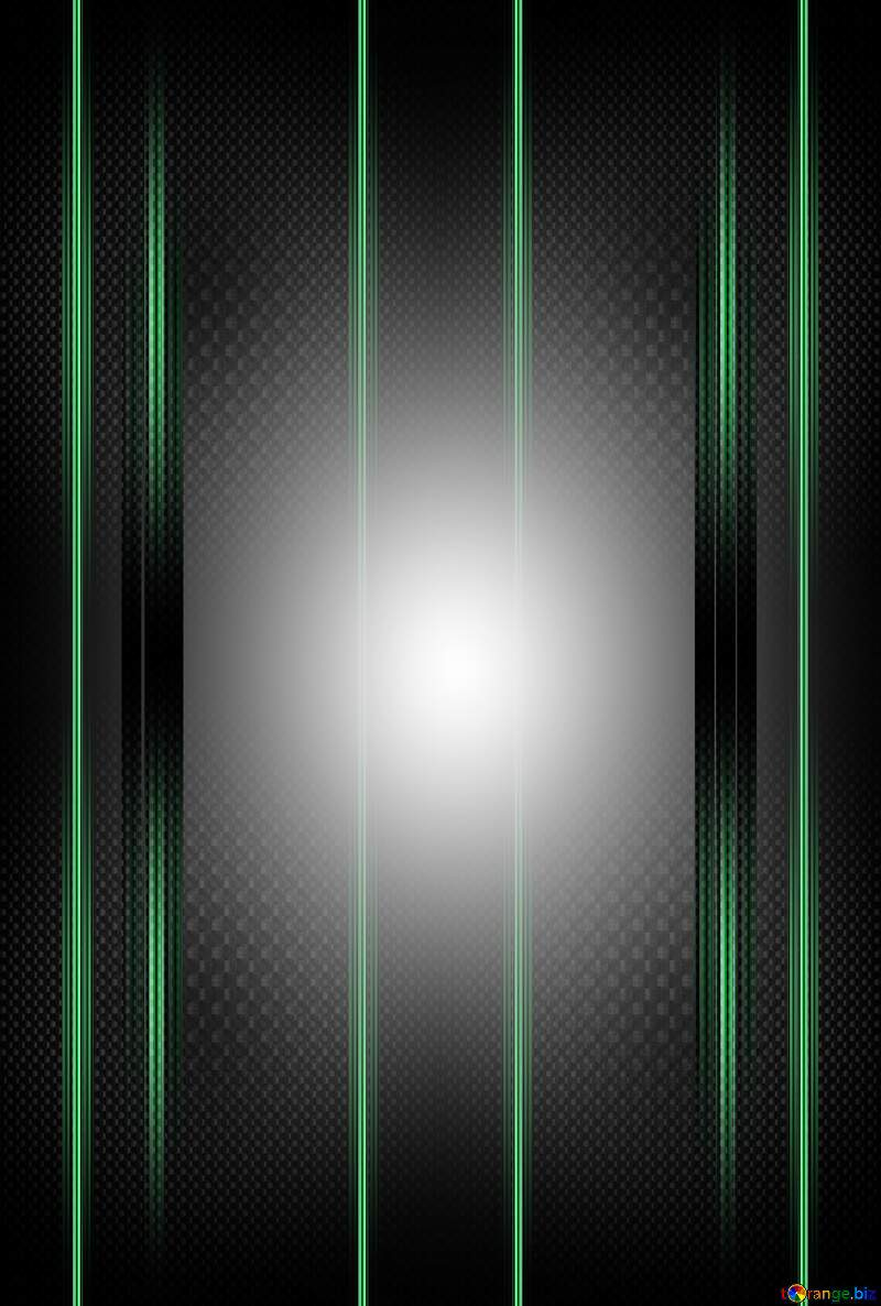 A green light carbon frame pattern design parallel neon symmetry computer №54465