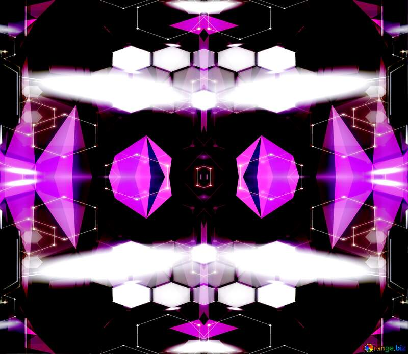 Games visual effect lighting violet purple symmetry graphic design technology triangles background №51580