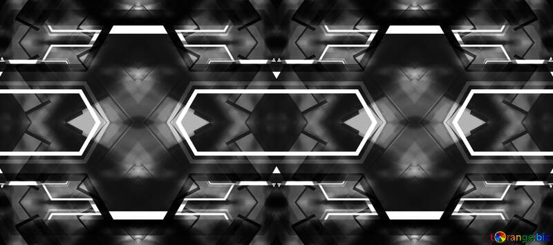 beautiful Science Blurred Lights fractal gray  background №54841