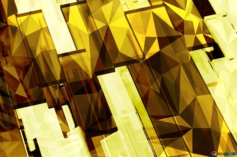 Creative crystal 3d abstract squares lines modern background №54511