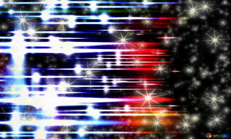 shiny bright fog stars background №54753