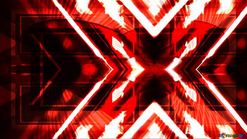 X-ray red  background №1700