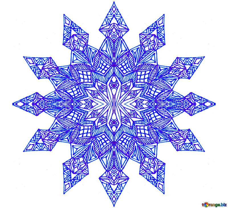 Snowflake graphic design visual arts №54900