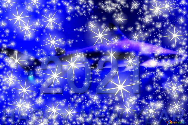 Blue  shark holiday sea  stars background №53834