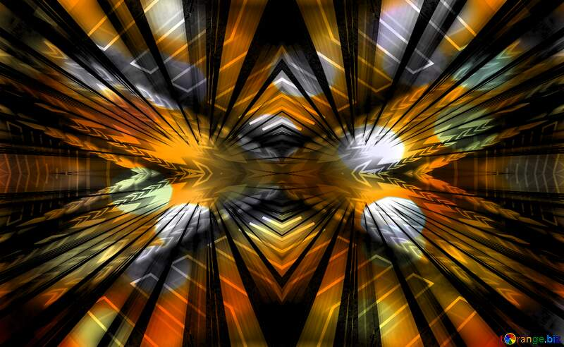 A blurry image of a colorful background symmetry art pattern №54503